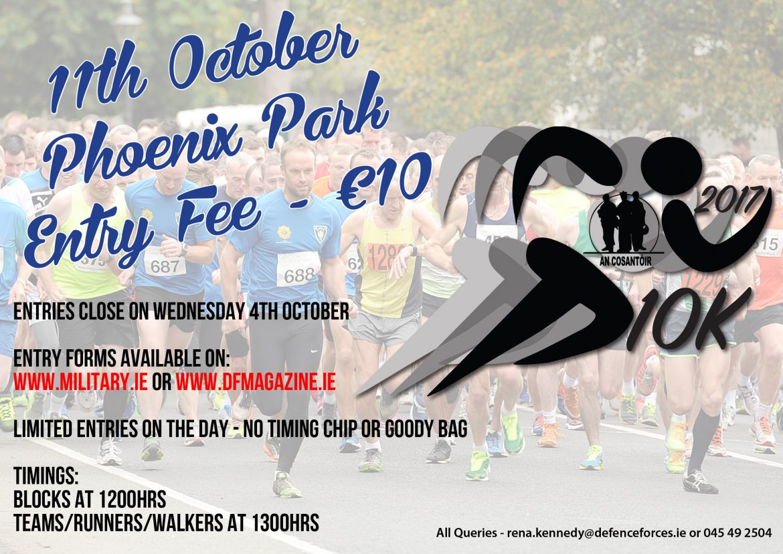 An Cosantóir 10K Road Race & 5K Walk