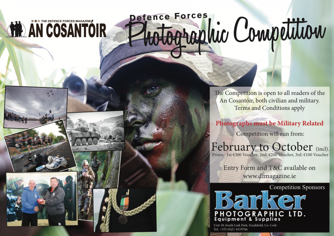 An Cosantoir / Barker Phothographic Competition 2017